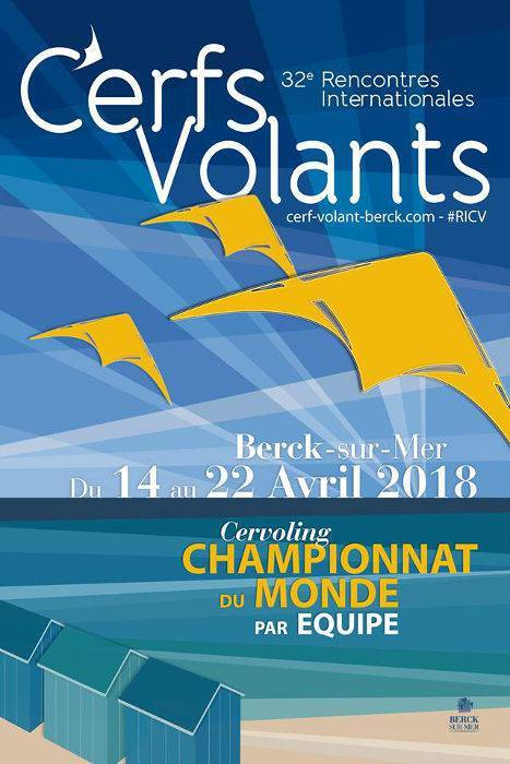 32nd International Meeting of Kites of Berck sur Mer 2018