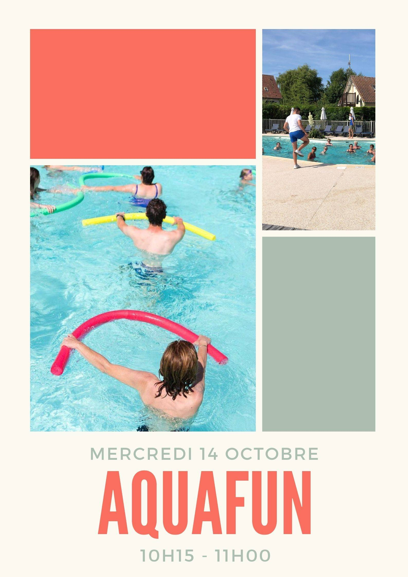 Aquagym session