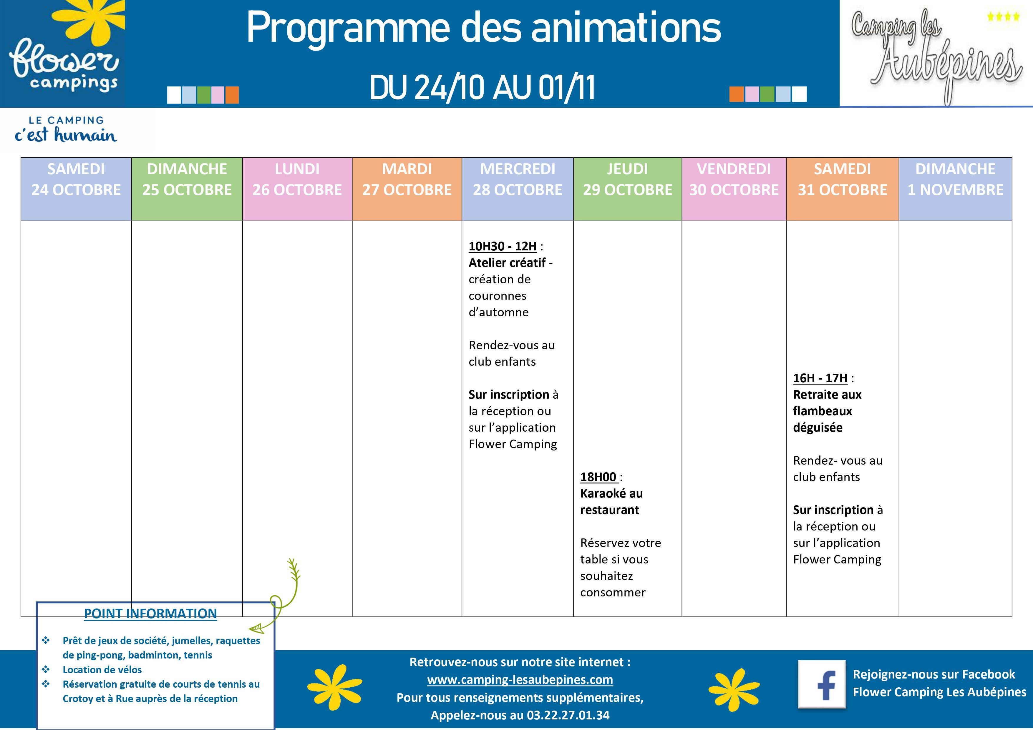Animations programm