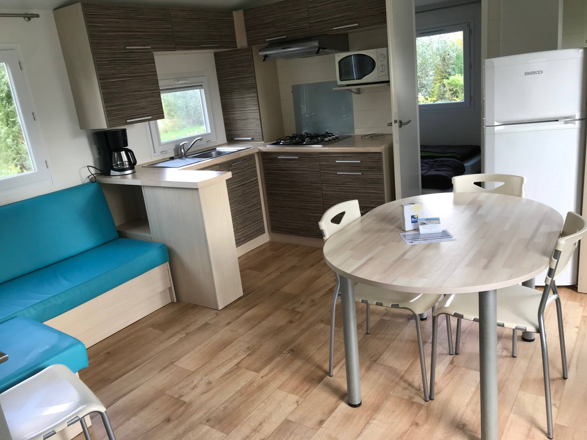 2 Bedrooms mobil-home