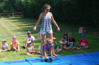 circus workshop camping children