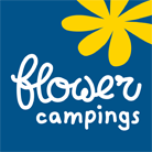 Logo flower Camping Les Aubépines
